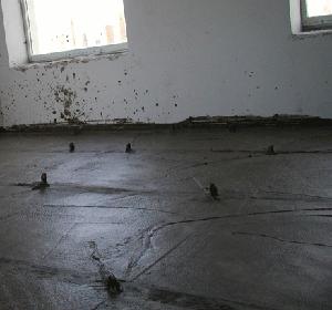 Стяжка пола из пенобетона (гостиницы, старый Фонд)