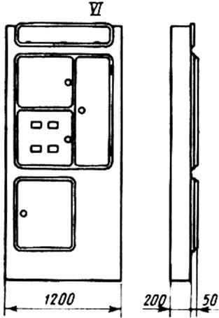 Щитки осветительные устанавливаемые в нише распорными дюбелями масса щитка до 6 кг тех хар