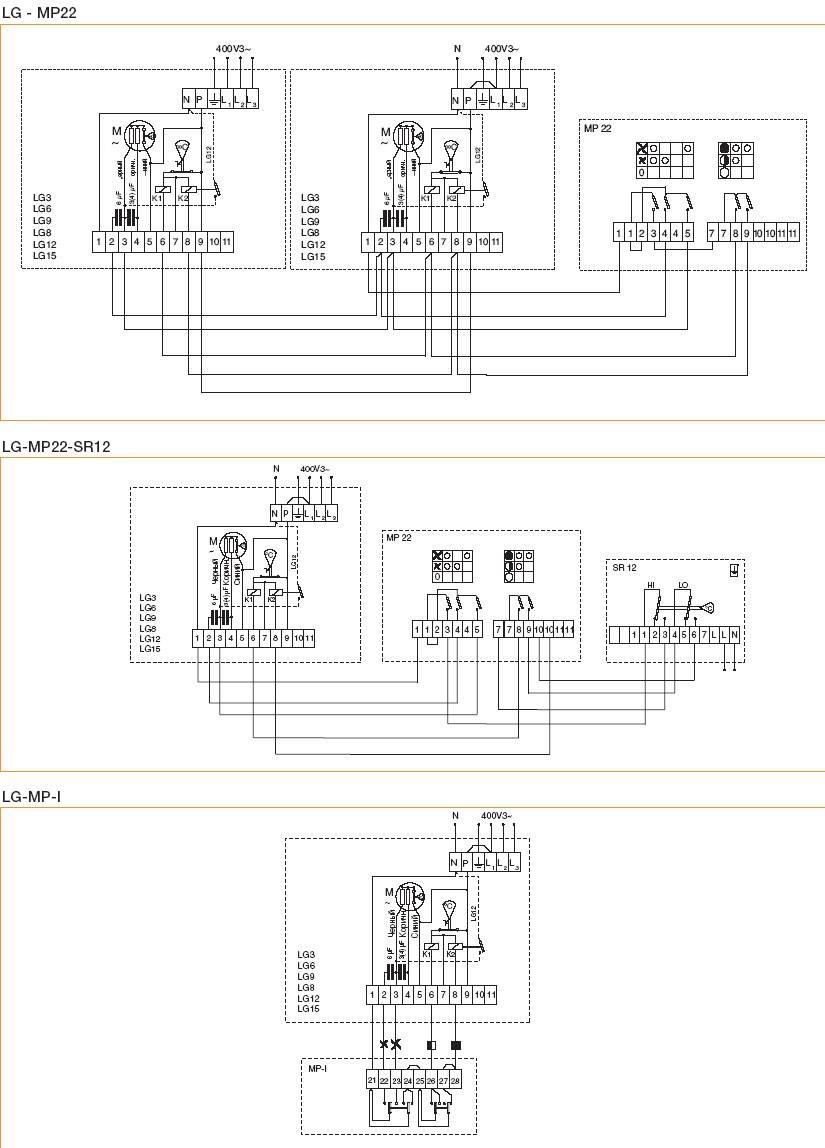 электрическая схема тепловой пушки сфо-3