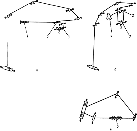 Схема запасовки грузового и