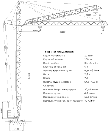 КРАН БАШЕННЫЙ КБ-405