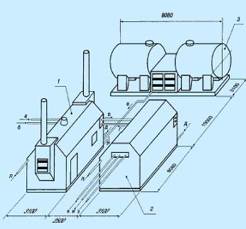 блочная котельная установка-740 саргаз