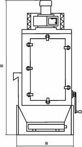 Агрегаты для отсоса и улавливания пыли АОУМ