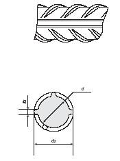 Прокат периодического профиля с улучшенными свойствами для армирования железобетонных конструкций