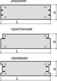 Плиты железобетонные плоские СПР, ПТП