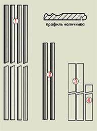 Арка Квадро прямоугольная из MDF