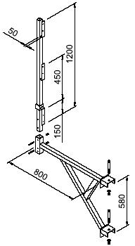 Модульная опалубка стен и колонн