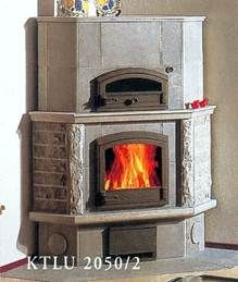 Камин угловой KTLU2050/2 с духовой печью