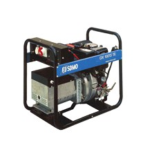 """Дизель-генератор трехфазный """"DX 10015 TE"""" мощностью 8 кВт с электростартером"""