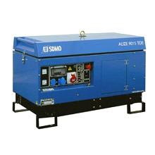 """Электростанция дизельная трехфазная """"ALIZE 9015 TDE"""" в шумозащитном кожухе мощностью 7.2 кВт с электростартером"""