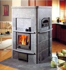 Камин TLU2490 с духовой печью