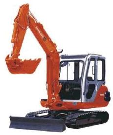 Hitachi EX35-2 Гусеничный мини-экскаватор