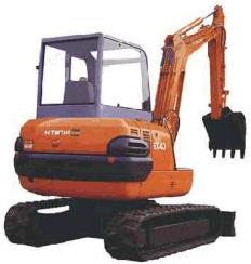 Hitachi EX40-2 Гусеничный мини-экскаватор