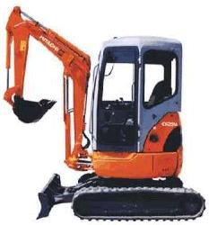 Hitachi EX29U  Гусеничный мини-экскаватор