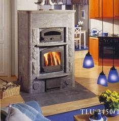Камин TLU2450/1 с духовой печью