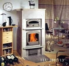 Камин TLU2002/13 с духовой печью