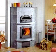 Камин угловой KTLU2050/5 с духовой печью