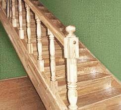 Деревянные лестницы из дуба