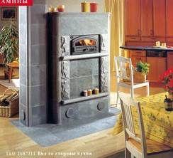 Камин TLU2687/11 с духовой печью