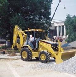 Экскаваторы-погрузчики Caterpillar 416D