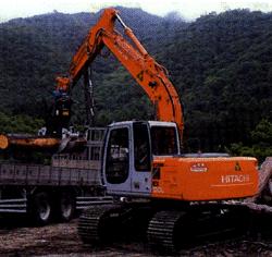 Захват для погрузки строевого леса