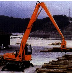 Машина для перемещения необработанных лесоматериалов