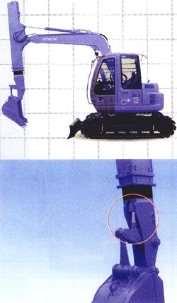 Выдвижная рукоять (со встроенным гидроцилиндром)