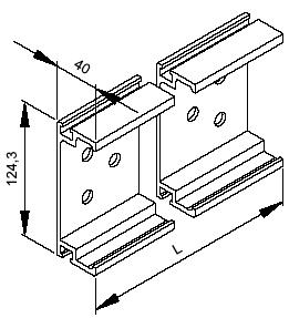 Разборная опалубка стен из алюминиевых балок