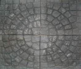 Плитка тротуарная Круг с фаской