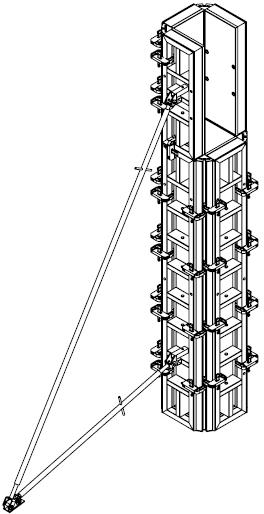 Опалубка колонн