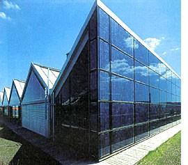 Система фасадная SGG PROSOL превращающая солнечную энергию в электричество