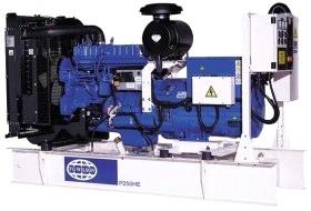 """Генератор дизельный """"FG Wilson P230H(250HE)"""" номинальной мощностью 230 кВА"""