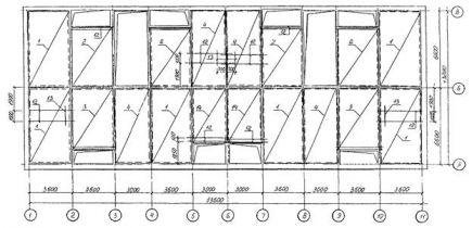 тех карта на возвед монолитных жил и общ зданий в крупнощитовой опалубке
