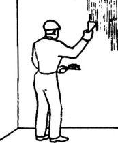 ТТК. Подготовка поверхностей под окрашивание. Сглаживание поверхностей и расшивка трещин