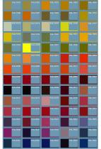Основная палитра цветов RAL