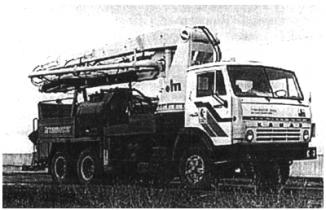 Автобетононасос СБ-170-1 Туймазинский завод автобетоновозов (Россия)