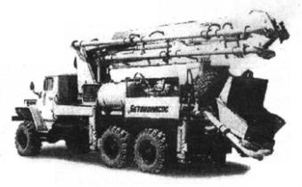 Автобетононасос СБ-170-3 Туймазинский завод автобетоновозов (Россия)