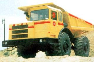 АВТОМОБИЛЬ-САМОСВАЛ МОАЗ-75051