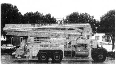 Бетононасосы на автомобильном шасси системы Pulsar (GBS machine)
