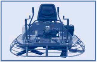 Двухроторная затирочная машина без пересечения лопастей BARTELL TS78