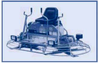 Двухроторная затирочная машина без пересечения лопастей BARTELL TS96