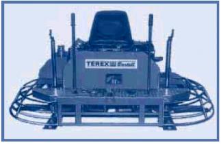 Двухроторная затирочная машина без пересечения лопастей BARTELL TS100