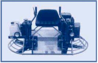 Двухроторная затирочная машина с пересекающимися лопастями BARTELL TS74