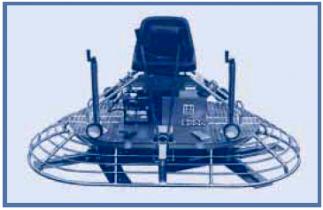 Двухроторная затирочная машина с пересекающимися лопастями BARTELL TS88