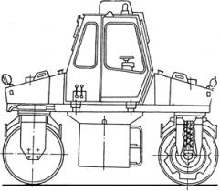 КАТКИ СТАТИЧЕСКИЕ ВАЛЬЦОВЫЕ ДУ-49В, ДУ-63-1, ДУ-47Б-1