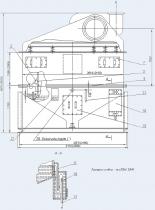 Пылеуловитель вентиляционный мокрый конвейерный типа ПВМКБ