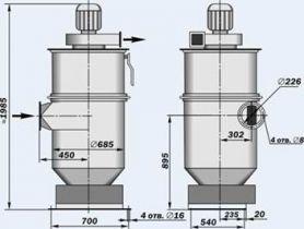 Пылеуловители инерционно-рукавные типа ЗИЛ-900М, ИРП-1500