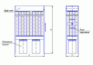 Установки Серии ПР для очистки воздуха от стружки, опилок, пыли образующихся в результате обработки древесины
