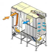 Установки Серии СТ для очистки воздуха от стружки, опилок, и шлифованной пыли