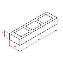 Блоки унифицированные дырчатые